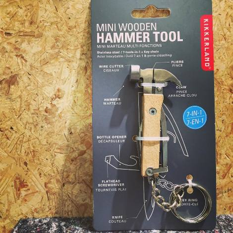 Mini Wooden Hammer Tool